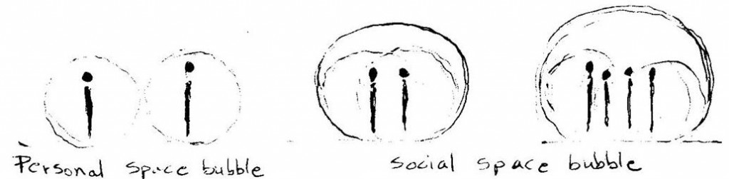 Social Space Bubble Personal Organic Architecture